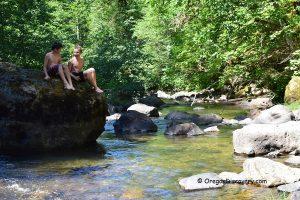 Cavitt Creek Falls