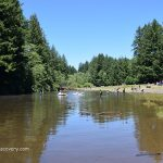 Silver Falls State Park Swimming