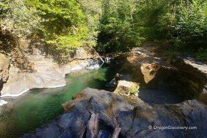 Jacuzzi Rocks Swimming - Elk River
