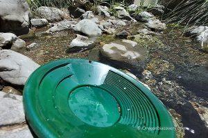 Cow Creek Gold Panning