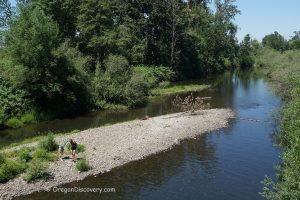 Gilkey Bridge - Thomas Creek Swimming