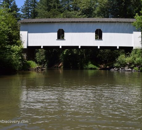 Hoffman Covered Bridge - Crabtree Creek
