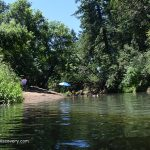 Hoffman Covered Bridge - Swimming