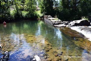 Broken Dam - Thomas Creek Swimming