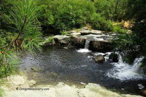 Crowfoot Falls near Medford