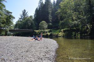 Kilchis River - Kilchis Logging Bridge