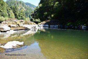 Dam Hole - Trask River