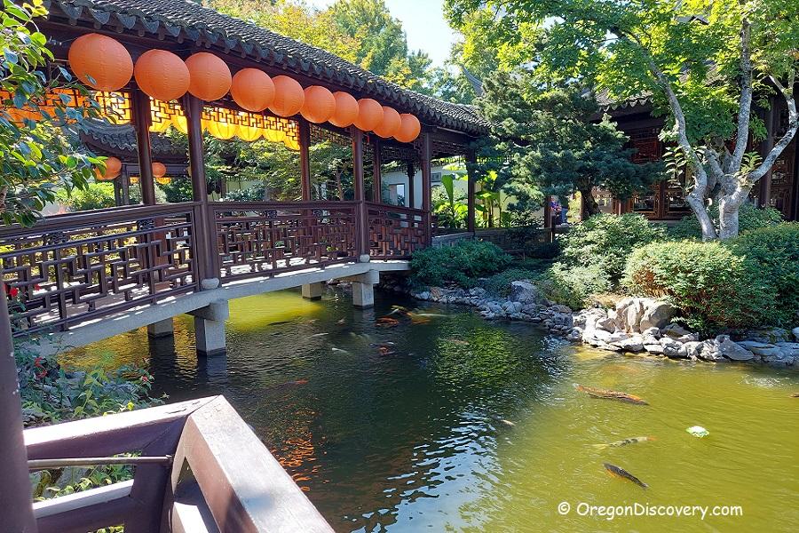 Lan Su Chinese Garden - Portland Downtown